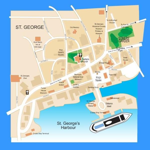 St George Or Kings Wharf Never Been To Bermuda