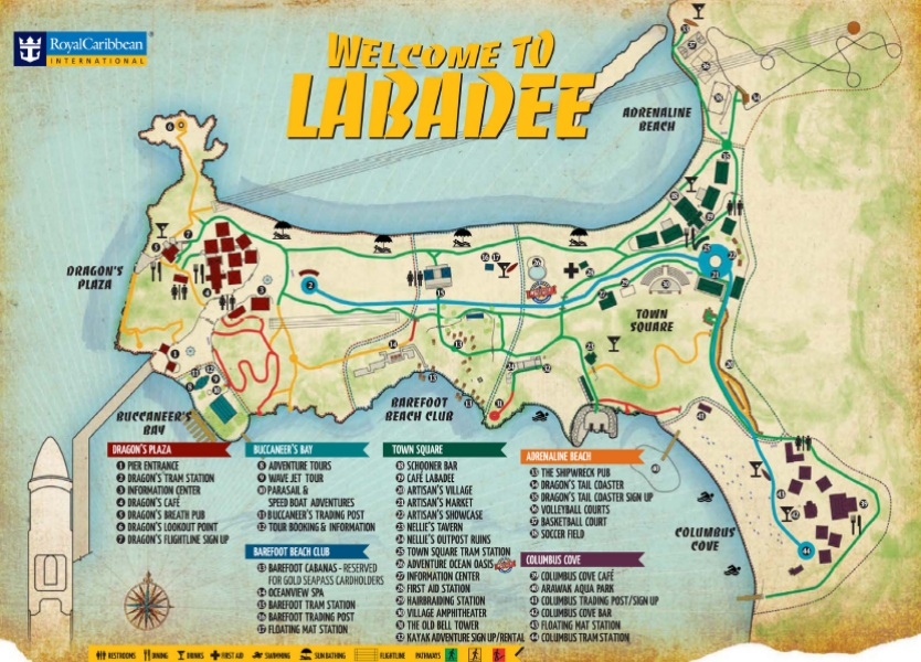 Labadee Map Cruise Critic Message Board Forums